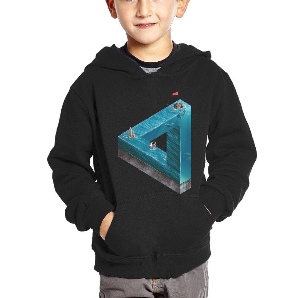 Small Hoodie Rafting Boys Casual Soft Comfortable Sweatshirts Kangaroo Pocket Hoodies