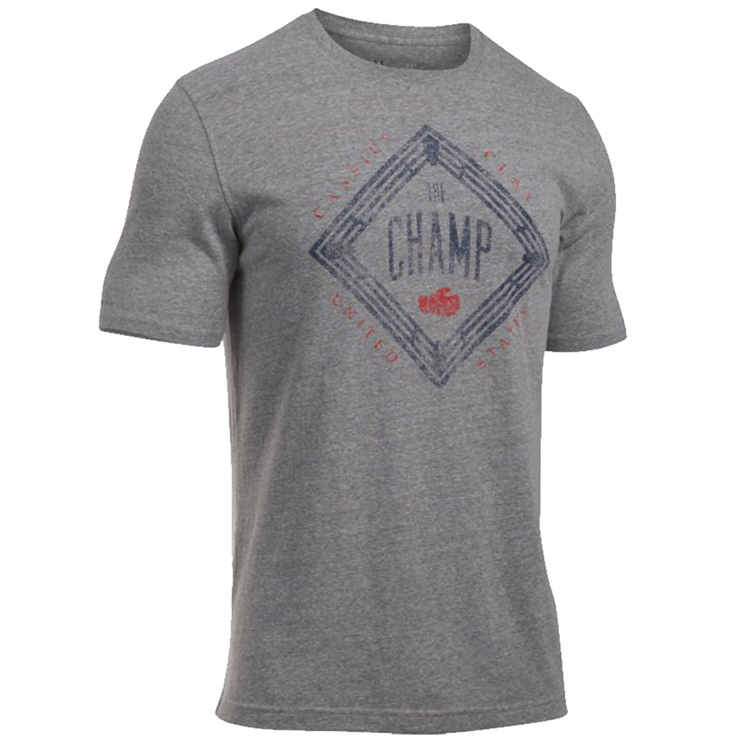 Under Armour 2016 Mens Clay The Champ Muhammed Ali Triblend Tee T Shirt
