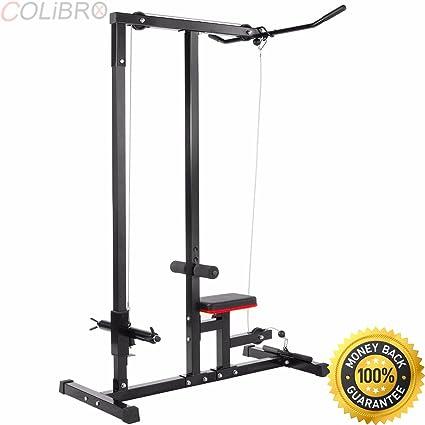 Amazon colibrox home gym body lat pull down machine low row
