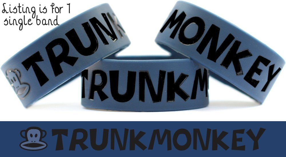 Amazon Com Trunk Monkey One Inch Wristband From Commercials Videos