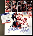Autographed McCarty Photo - Fight Claude Lemieux 8x10 Turtle Beatdown Coa - PSA/DNA Certified