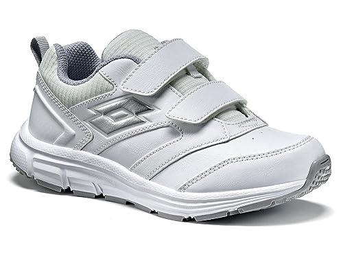 Lotto Zapatillas de Tenis Para Niño, Color Blanco, Talla 27 EU