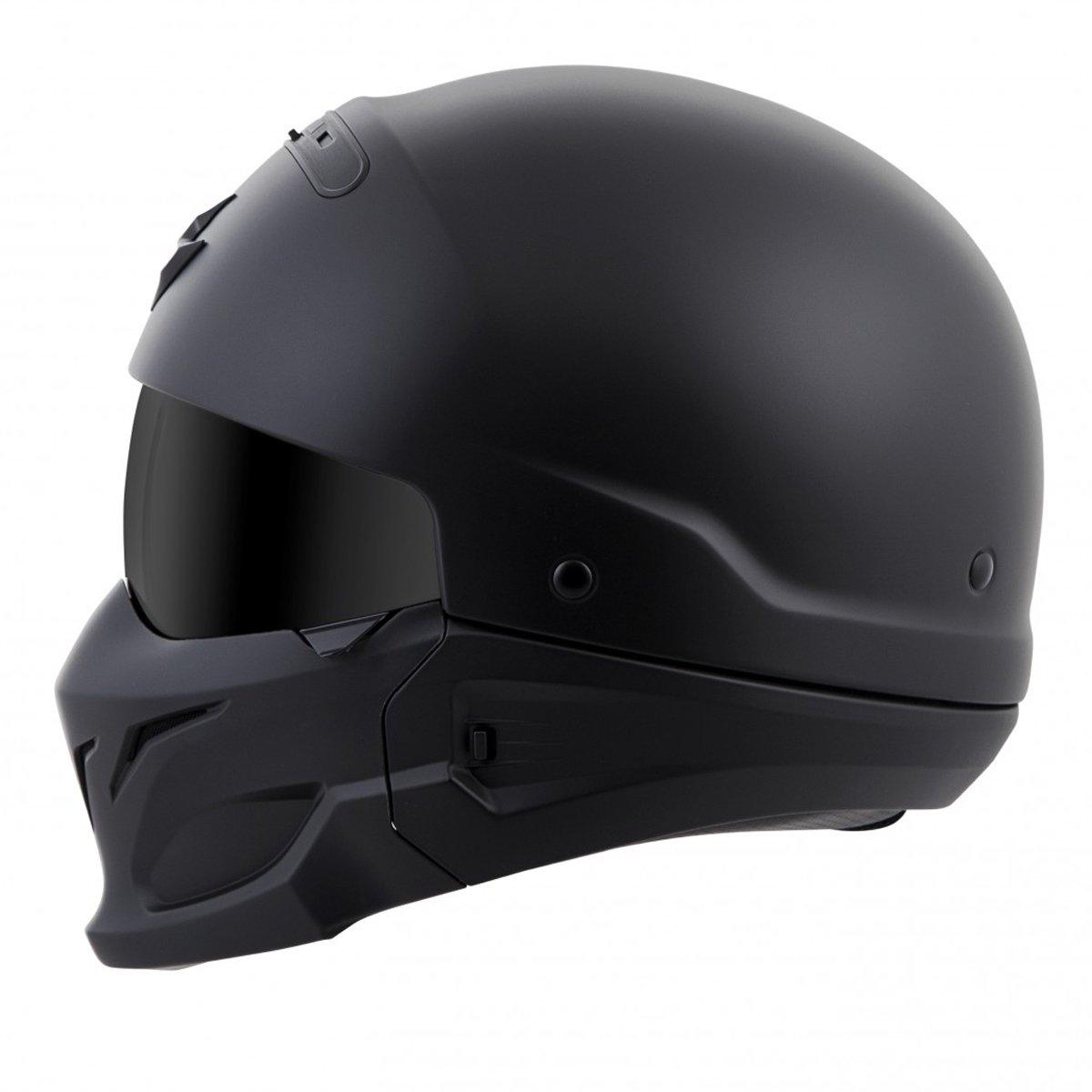 Amazon.com: ScorpionExo Covert Unisex-Adult Half-Size-Style Matte ...