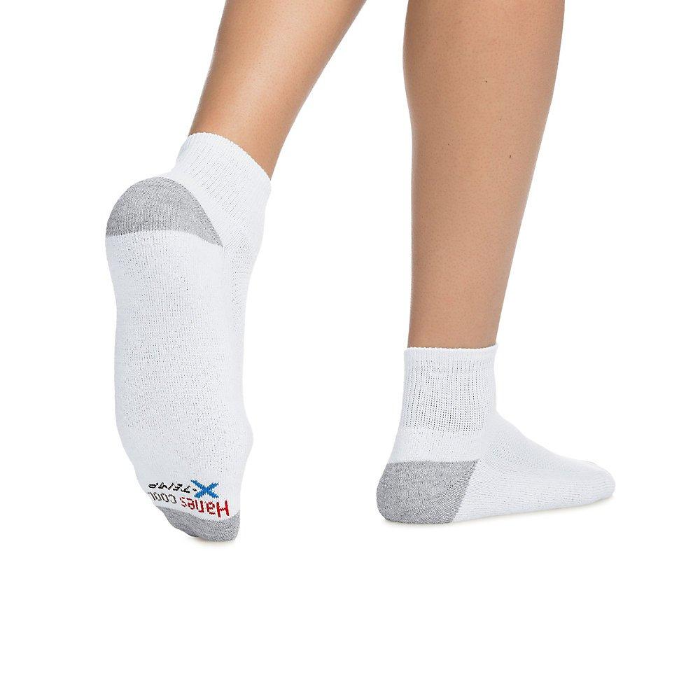 Hanes Mens X-Temp Comfort Cool Vent Crew Socks Pack of 6