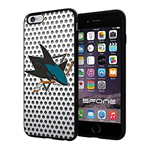 San Jose Sharks White Net #2218 iphone 5s) I+ Case Protection Scratch Proof Soft Case Cover Protector