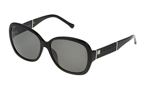 Loewe SLW937G580700, Occhiali da Sole Donna, Nero (Shiny Black), 58