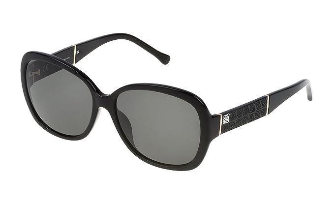 Loewe SLW937G580700, Gafas de Sol para Mujer, Shiny Black 58 ...