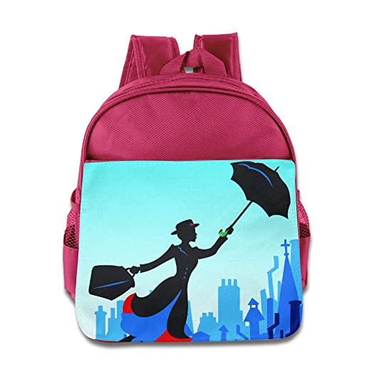 c3f9610121 Kids Mary Poppins School Backpack Cute Baby Boys Girls School Bags Pink