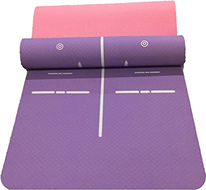 Amazon.com : MY ZEN FITNESS Yoga Mat : Sports & Outdoors