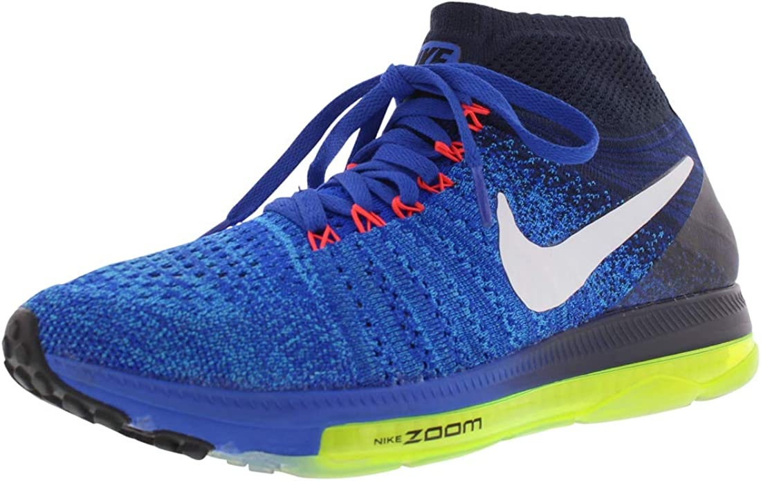 Mens NIKE ZOOM ALL OUT FLYKNIT Black Running Trainers 844134 002