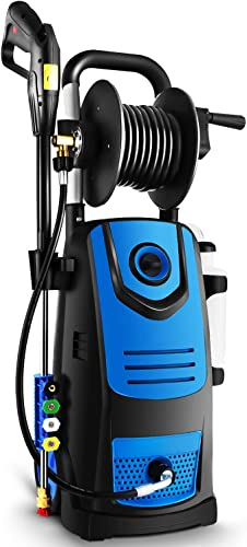Naabet Electric Pressure Washer Electric Power Washer Blue