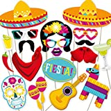 Photo Props by PartyGraphix DIY Mexican Photo Booth Props for your Fiesta.. 32 Pieces