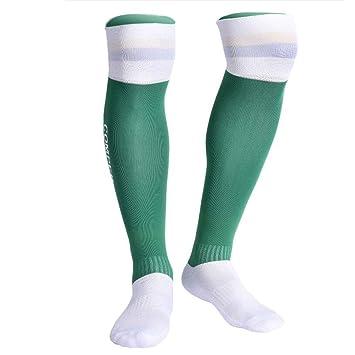 ZJEXJJ Calcetines Antideslizantes a presión Calcetines Deportivos al Aire Libre (Color : Green2, Tamaño