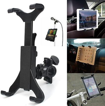 Soporte para bicicleta para teléfono, micrófono, iPad Tablet iPad soporte para bicicleta, soporte universal para 7