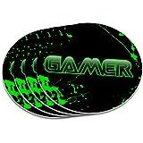 Gamer Paint Splatter Gaming Geek Coaster Set