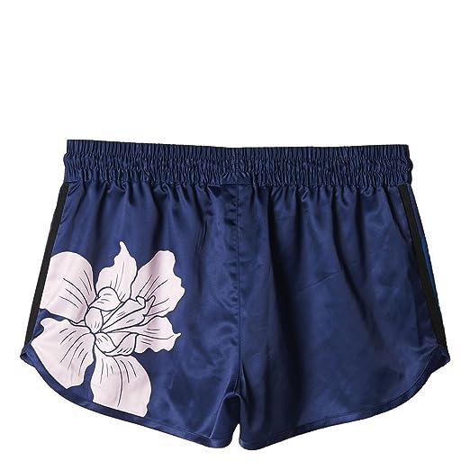 8aeff5b39 Adidas Women Floral Engraving Running Shorts (navy / dark blue / green /  clear pink / dark marine): Amazon.co.uk: Clothing