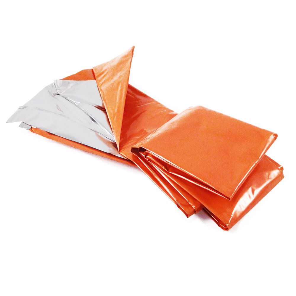 ASR Outdoor Survival Mylar Extreme Emergency Blanket Orange by ASR Outdoor