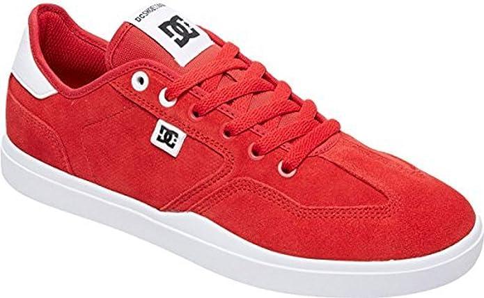DC Shoes Vestrey Sneakers Herren Rot/Weiß