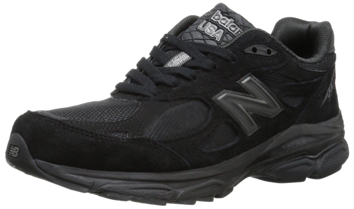 New Balance Women's 990V3 Running Shoe B00C40SPZG 11.5 D US|Black/Black