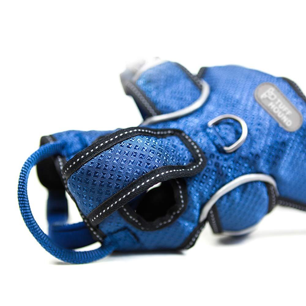 non include la corda da trazione Gilet con fermagli per animali domestici rinforzati,Cinturino a prova di esplosione regolabile,Riflettente maglia leggera traspirante,Progettato per cani giganti