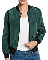 Celltronic Women's Ladies Classic Quilted Jacket Long Sleeve Coat Bomber Jacket