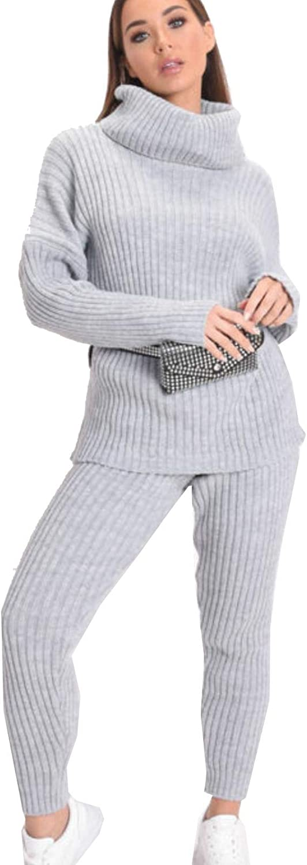 Get fashion uk Conjunto de calzas de Punto para Mujer, Polo ...