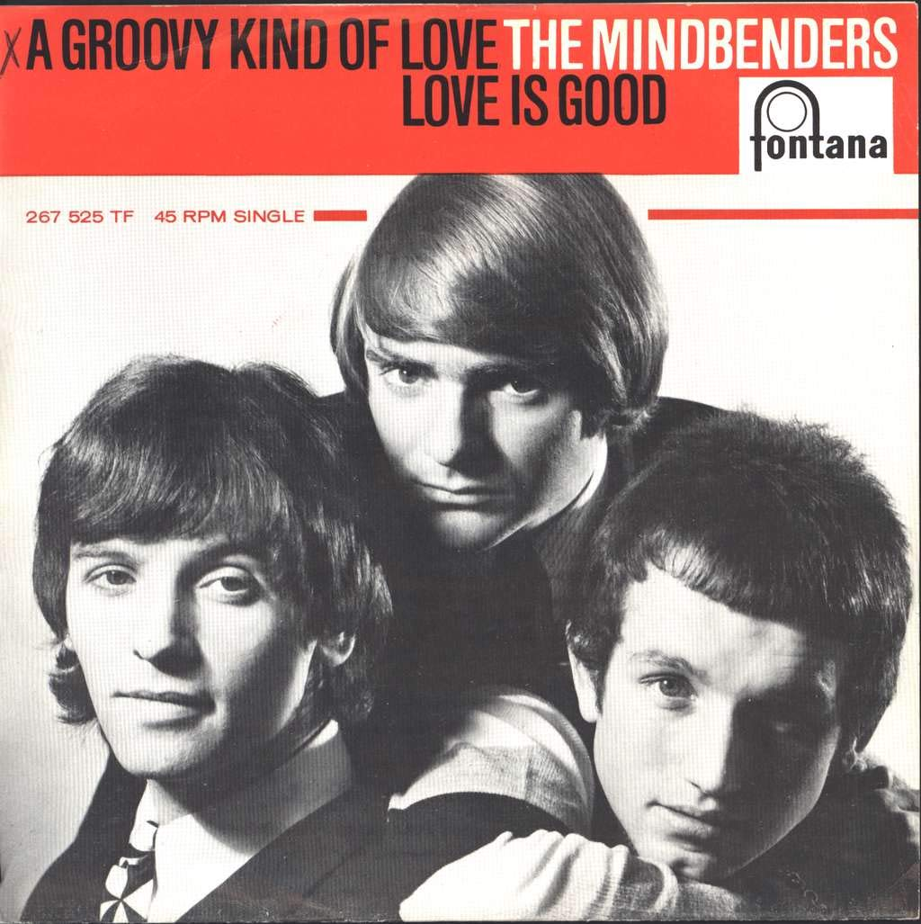 "The Mindbenders - A Groovy Kind Of Love / Love Is Good 7"" 45 - Fontana -  F-1541 - Amazon.com Music"