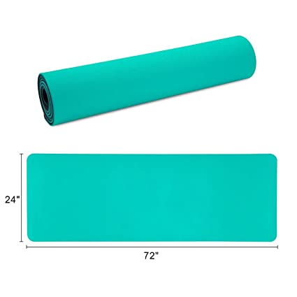 Amazon.com: AOLI Yoga Mat Suitable for Goat Yoga 8Mm Thick ...