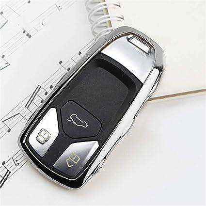 SLONGK Smart Car Key Case para Audi Nuevo A4 B9 A5 Q5 Q7 S4 ...