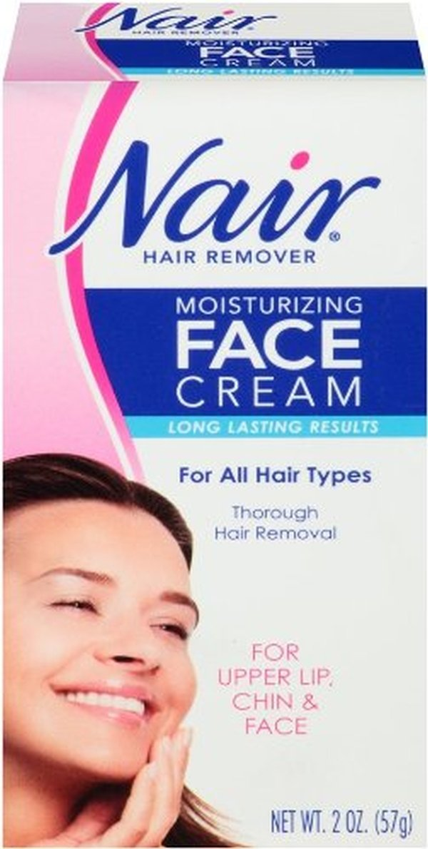 Nair Hair Remover Face Cream 2 Ounce (59ml) (3 Pack)