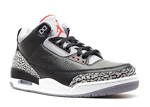 d0e65974dd81 NIKE Air Jordan 3 Retro True Blue Leather Sneaker  Amazon.co.uk  Shoes    Bags