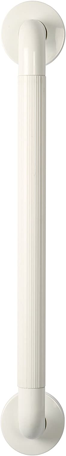 300 mm Safety Support Rail White ABS Grab Bar for Bathroom
