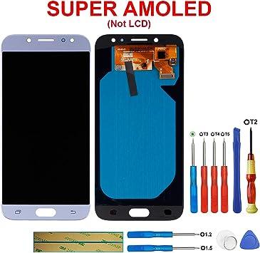 SWARK Pantalla Super AMOLED Compatible con Samsung Galaxy J7 Pro ...