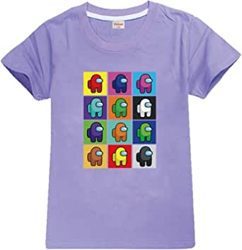 Forlcool Camiseta Kids Among Us para niños y niñas