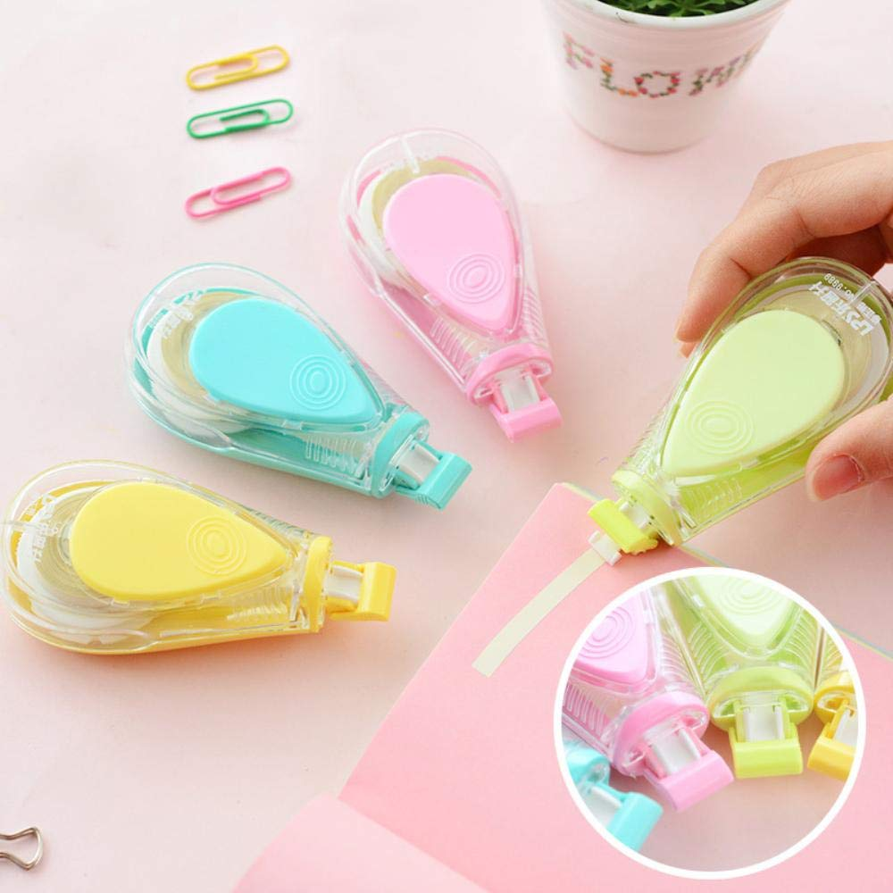 12 pcs/Lot Macaron color Water drips Correction tape LPS tapes stationery corretivo escolar fita Office supplies by PomPomHome (Image #6)