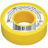 Oatey 31403 Yellow GAS/TFE Tape, Dispenser Pack, 1/2-Inch x 260-Inch