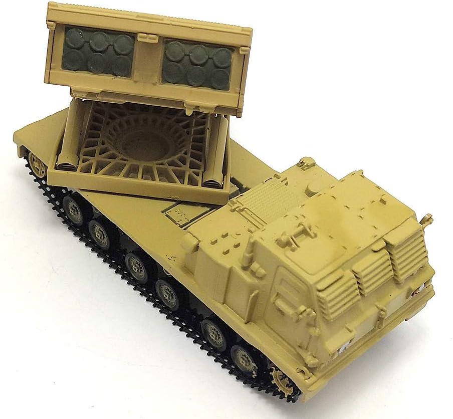 1//72 M270 MLRS Launcher Mehrfachstartrakete Modell Artillerie Militärspielzeug