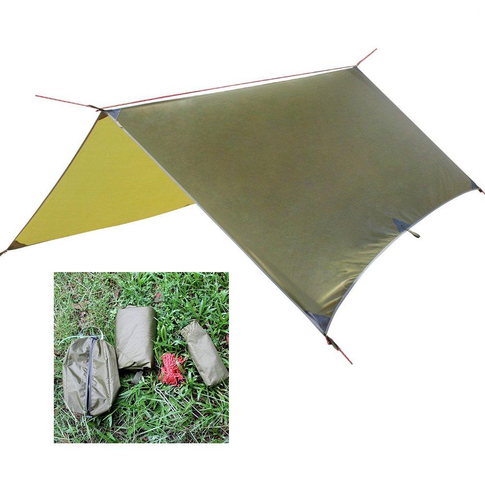 Collun Hammock Rain Fly Portable Waterproof Rain