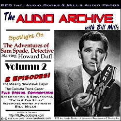 A Sam Spade Audio Double-Feature Starring Howard Duff, Volume 2