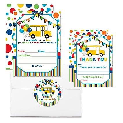 Amazon.com: Deluxe Wheels on The Bus - Juego de 20 tarjetas ...