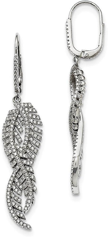 Best Designer Jewelry Sterling Silver /& CZ Brilliant Embers Earrings