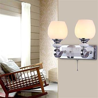 Wandleuchte Kreative Wand Lampe Luxus Schlafzimmer Spiegel Vordere Lampe  Doppel Kopf ? LED Wandleuchte Leselampe