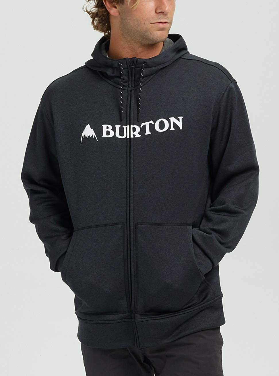 Burton Herren Oak Fleece Pullover True Black Heather