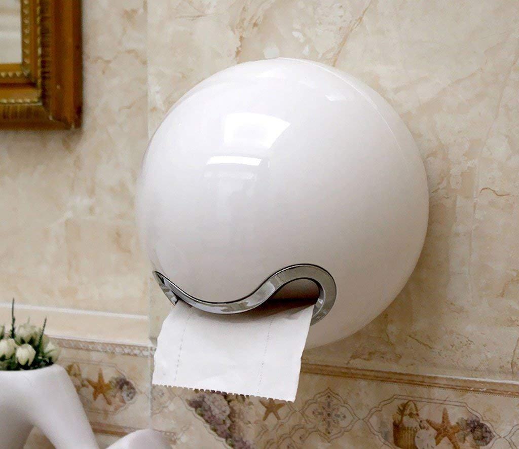 Eeayyygch Toilettes créatives Toilette Toilette Boîte à Papier de Toilette Rouleau à Papier de Toilette (Couleur: Vert) (coloré : Violet, Taille : -)