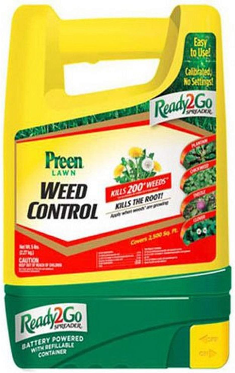 Preen Lawn Weed Control Ready 2 Go Spreader, 5 lb - 100517184