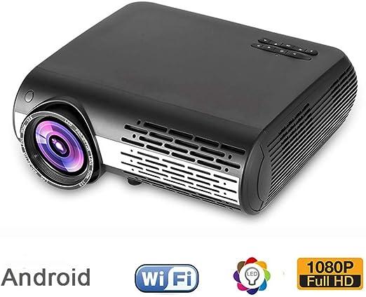 QinLL Proyector HD Nativo 1920X1080 vídeo 6200 lúmenes Ayuda del ...