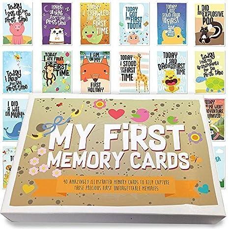 Paquete de 40 tarjetas de cumpleaños para bebés de 1er año ...
