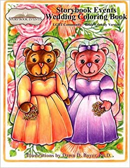 A Storybook Event Wedding Coloring Book: Big Kids Coloring ...