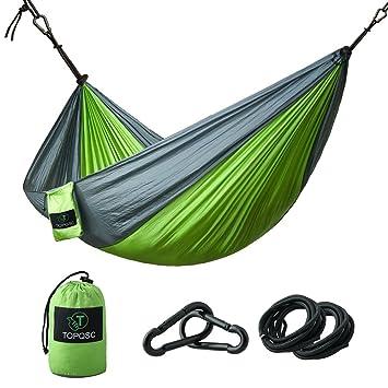 hammocks   topqsc camping hammocks ultra light portable  pact nylon hammock perfect for outdoor amazon    hammocks   topqsc camping hammocks ultra light      rh   amazon