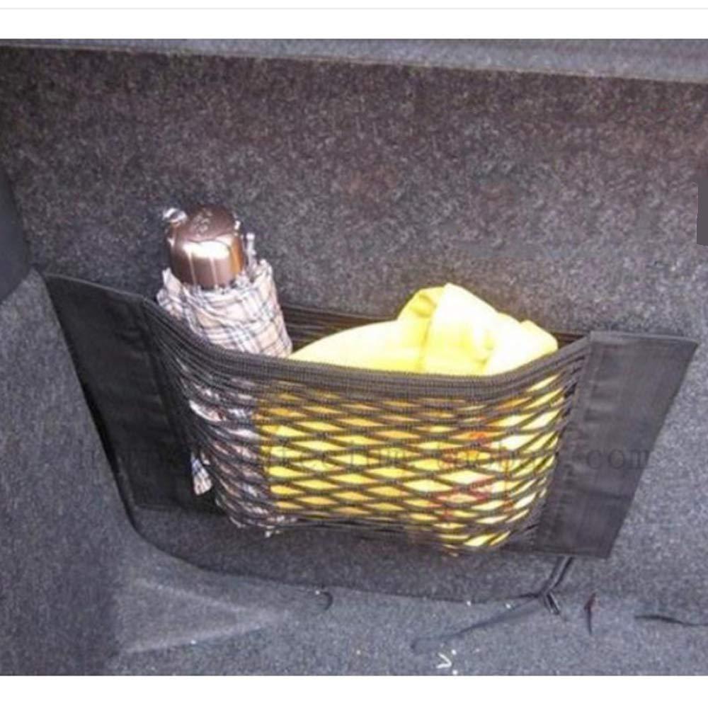 Lagerung Add on Organizers Xinlie 2 St/ück Gep/äcknetz Auto Kofferraum Netztasche mit Starken Klettstreifen Aufbewahrungsnetz Elastische Net Mesh Aufbewahrungstasche f/ür Flaschen Lebensmittel